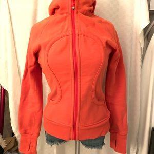 Lululemon orange jacket